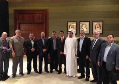 اتصالات لترتيب زيارة ممثلي حماس في لجنة التكافل إلى الإمارات بعد العيد