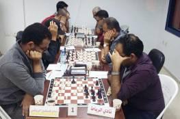 نادي فلسطين يفوز ببطولة الأندية للشطرنج
