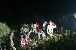 إصابة جندي إسرائيلي سقط في حفرة قرب الخليل