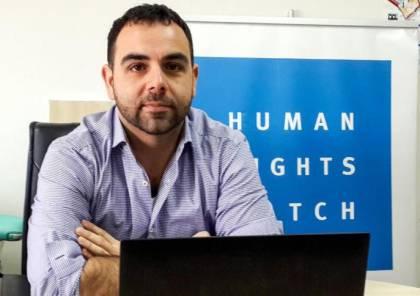 خبراء أمميون ينتقدون قرار إسرائيل بطرد مدير منظمة هيومن رايتس ووتش