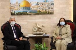 وزيرة الصحة تبحث مع القنصل التركي العام تعزيز التعاون