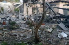 """غانتس يعلق على الصاروخ : """"أفلسنا أمنيا أمام حماس وعلى """"نتنياهو العودة فوراً"""