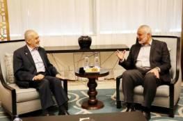 هنية يبحث مع مسؤول حزب تركي سبل زيادة دعم بلاده للفلسطينيين وتعزيز صمودهم