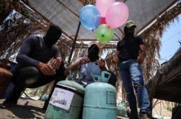 """لليوم الثاني على التوالي… حرائق في مستوطنات """"غلاف غزة"""" جراء البالونات الحارقة"""