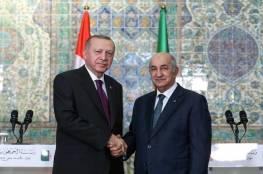 """أردوغان يعرب لتبون عن استعداد بلاده لمرافقة الجزائر """"في مرحلتها الجديدة"""""""