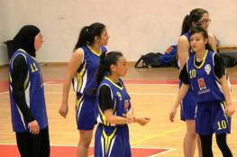 فرق اكاديمية القدس لكرة السلة تقص شريط مهرجان قدسنا