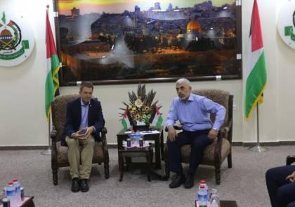 صور: رئيس الصليب الأحمر يجري اجتماعا مغلقا مع السنوار و رفض طلبه بلقاء الجنود الاسرائيليين