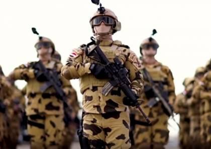 الجيش المصري يستعد في شمال سيناء