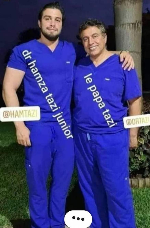 الدكتور التازي وابنه