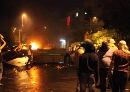 إصابة 5 جنود إسرائيليين خلال المواجهات بالعيسوية