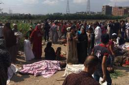 صور: 29 قتيلا و 88 مصابا فى حادث تصادم قطارى الإسكندرية