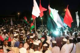 """محتجون من """"عطبرة"""" السودانية يتدفقون على العاصمة الخرطوم"""