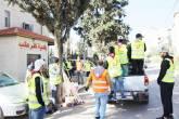 كشافة شعلة القدس تواصل عملها في مواجهة جائحة الكورونا