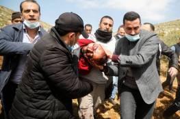 صور و فيديو: شهيد برصاص الاحتلال الاسرائيلي في بيت دجن شرق نابلس