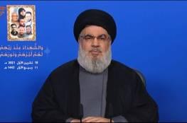 """نصر الله يكشف عدد مقاتلي """"حزب الله"""" المدربين والمسلحين"""