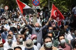 تركيا: مظاهرات منددة بالاعتداء على المسجد الأقصى