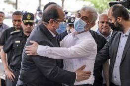 """مصادر تكشف كواليس اجتماعات حماس والوفد المصري ..السنوار """"الرجل المباشر والواضح"""""""