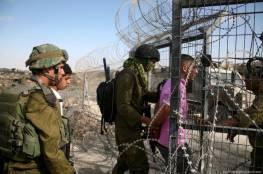 صورة.. الاحتلال يعتقل 5 شبان على حدود غزة