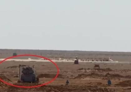 """شاهد ..الجيش المصري يتدرب على ضرب """"أهداف إسرائيلية"""" بالذخيرة الحية"""
