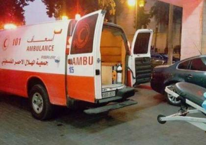 إصابة مواطنين إثنين بإنقلاب حافلة في طمون