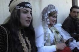 """بعد أن كان محظورا ..شاهد : أول حفل زفاف في الرقة بعد طرد """"داعش"""" منها"""