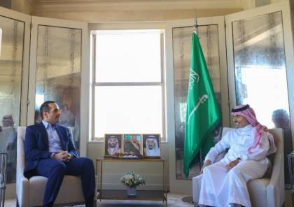 وزيرا الخارجية السعودي والقطري يلتقيان في واشنطن
