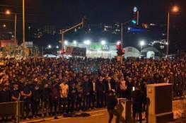 اعتقالات وإصابات باعتداء شرطة الاحتلال على تظاهرة كفر قرع