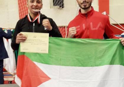 فلسطين تحصد برونزية في البطولة العربية الرابعة للملاكمة للشباب في القاهرة