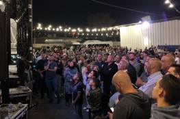 الناصرة: الآلاف يشاركون سلّام تتويج حملته الانتخابية للرئاسة