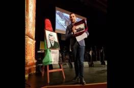 بودابست- احياء الذكرى 54 لانطلاقة الثورة وتكريم رجل الاعمال الرمحي