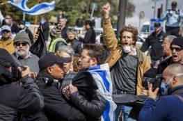 رغم كورونا.. اشتباكات وسط القدس بين الشرطة الإسرائيلية ومحتجين على إغلاق الكنيست