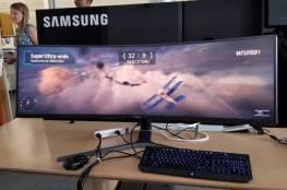 شاشة حاسوب بمواصفات خيالية