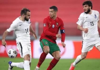 البرتغال تنجو من كمين أذربيجان بفوز باهت