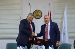 جامعة القدس والصناعات الإنشائية توقعان اتفاقية تعاون مشترك