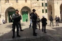 الاحتلال يغلق المصلى القبلي في المسجد الأقصى