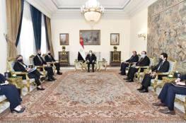 """السيسي يؤكد لـ """"بلينكن"""" أهمية استئناف المفاوضات بين الفلسطينيين والإسرائيليين"""