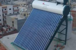 """""""اقتصاد غزة"""" تسمح بإدخال السخانات الشمسية المستخدمة"""