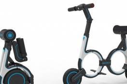 دراجة إلكترونية تحمل على الظهر!