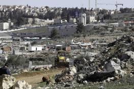 موافقة اسرائيلية على إقامة مجمع تشغيل استيطاني على مساحة 90 دونما شرق القدس