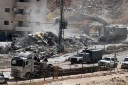 بلدية الاحتلال تشرع بهدم منزلين بحي عين اللوزة في سلوان