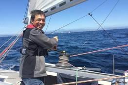 ياباني يصبح أول مستكشف كفيف يعبر المحيط الهادئ
