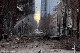 شرطة ناشفيل تنشر أول صورة للشاحنة المفخخة التي انفجرت في المدينة