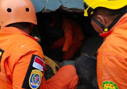 صور: زلزال يهز جزيرة سولاويسي في إندونيسيا..سقوط قتلى ومئات المصابين
