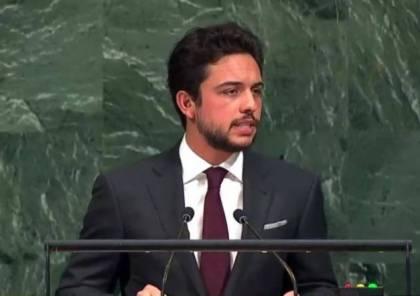 الحسين: ملتزمون بالحفاظ على الوضع التاريخي والقانوني بالاقصى