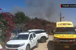 مقتل اثنين واصابة 12 اخرين في قصف المقاومة الفلسطينية لمنطقة اشكول