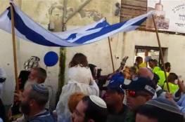 وزراء وأعضاء كنيست وحاخامات يفتتحون كنيسا يهوديا جنوب المسجد الأقصى