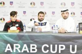 منتخب الشباب يواجه نظيره السعودي في مباراته الافتتاحية لبطولة كأس العرب