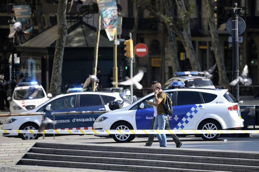 962365-موقع-حادث-دهس-فى-برشلونة