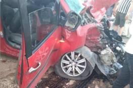 مصرع مواطن وإصابة 11 آخرين جرّاء حادث سير في النصارية