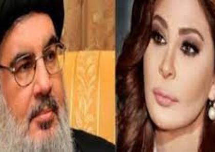 """إليسا تتهكم على نصرالله : """"مش مفروض عم نحرّر القدس؟"""